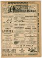 """M'Carthy's Mishaps"" theater program, Bijou Opera House, Minneapolis, Minnesota"