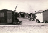 Photograph of housing on D Street, 1943