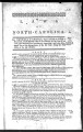 Thumbnail for Laws of North Carolina [1794] Laws of the State of North-Carolina