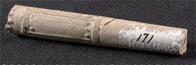 Kaolin pipe, stem fragment