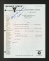 Administrative Records. Board of directors meetings, 1982, 1984, 1987-1992, 1995. (Box 1, Folder 16)