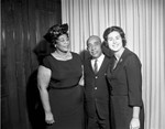Ella with Gilbert Lindsay, Los Angeles, 1963