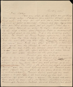 Letter from Emma Forbes Weston to Deborah Weston, Thursday noon, [1841?]