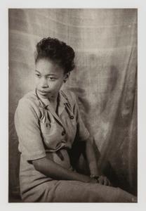Margaret Walker, from the portfolio 'O, Write My Name': American Portraits, Harlem Heroes