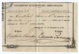 Taxes paid for slave rental by Cristobal Brauet and Isabel Savon