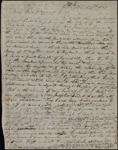 Letter from Maria Weston Chapman, Paris, [France], to Anne Warren Weston, Deborah Weston, and Lucia Weston, March 4th, 1849