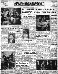 Memphis World, 1954 April 2nd