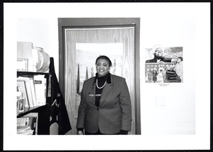 Newton Free Library, Newton, MA. Communications & Programs Office. Inez Dover, Newton North High School (NNHS), speaker: Black History Month