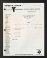 Administrative Records. Board of directors meetings, 1982, 1984, 1987-1992, 1995. (Box 1, Folder 12)