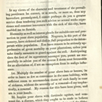 """""""Advice to the planters of the southern states"""", Pages 037-039."""