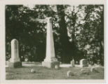 Hanby monument in Otterbein Cemetery