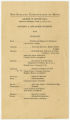"""Program for a """"Concert by Advanced Students"""" at the New England Conservatory of Music, George W. Brown Hall, April 22, 1946"""