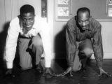 Willis, Bill 1956 with Harrison Dillard