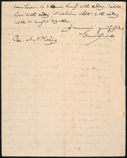 Letter to Amos A. Phelps] [manuscript