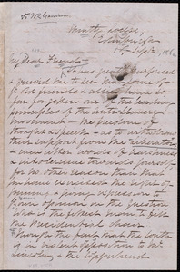 Letter from Elizabeth Pease Nichol, Huntly Lodge, Edinburgh, [Scotland], to William Lloyd Garrison, 1st Sept. [1864]
