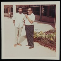 Langston Hughes with others, Dar es Salaam, Tanzania, Zanzibar