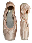 Ballet shoes, worn by Misty Copeland