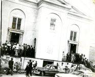 Mass Meeting at First African Baptist Church