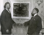 Dox Thrash and Beauford Delaney at the Pyramid Club Art Exhibition