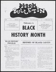 Black Bulletin Layouts, 1968- , Folder 1