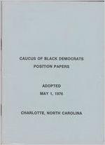 Box EO-3, Folder 1: Democrats, Black, 1976