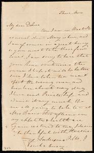 Letter from Sylvia Ann Ammidon, [West Street, Boston, Mass.], to Deborah Weston