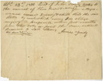 Bill of sale for slaves