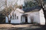 Durham's Chapel School: front of Rosenwald school