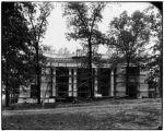 Maryland pavilion construction for the 1904 World's Fair