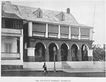 The executive mansion, Monrovia