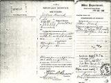 Hurd, William Charles - Military Pension