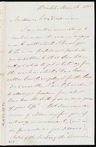 Letter from John Bishop Estlin, Bristol, [England], to Maria Weston Chapman, May 26, 1851