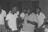 Parchman Penitentiary: Fields, electric chair, men singing (PPP C-68 #1179)