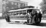 Monroe and High Street trolley, Jefferson City, Missouri Missouri Memories Exhibit