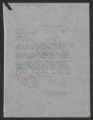 General Correspondence of the Director, Last Name R, 1914