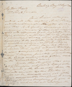 Letter from John Murray, Bowling Bay, [Scotland], to William Lloyd Garrison, 1 Aug[ust] 1840