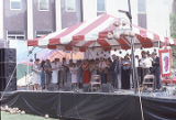 Sacred Harp singers at the 1989 Alabama Folklife Festival in Birmingham, Alabama.