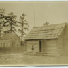Baptist church and one-room school house
