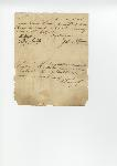 Bill of sale for slave between Erasmus Powe and John Purnell