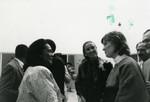 Coretta Scott King Talks with Librarian