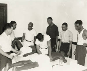 Masseur Training at the Fort Worth YMCA School of Health Service (1944-1957?)