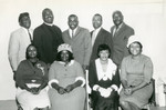 Group photograph from the Church of God and Christ congregation in Banning, California