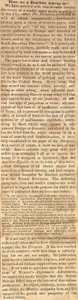 Thomas Butler Gunn Diaries: Volume 8, page 123 [newspaper clipping], December 23, 1856