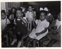 Dillard nursery school children