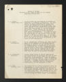 Correspondence, Reports, and Minutes. Policy correspondence, reports, and publications, 1891-1940. (Box 1, Folder 4).