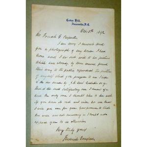 Frederick Douglass's autograph