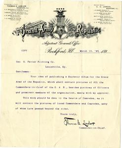 Thomas G. Lawler letter