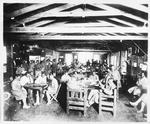 #261. Lounging Room, Army Y.M.C.A., Building No. 1, Camp Travis, Texas