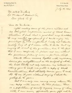 Letter from Leonard Cowan to W. E. B. Du Bois