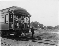 Denver & Rio Grande Western Railroad passenger car.